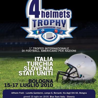 4 Helmets Trophy